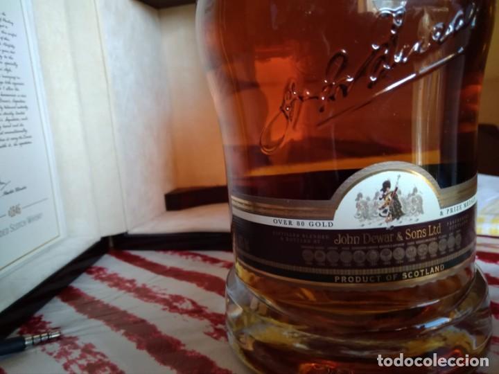 Coleccionismo Otros Botellas y Bebidas: Whisky Dewars signature edición limitada - Foto 7 - 142760922