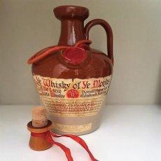 Coleccionismo Otros Botellas y Bebidas: BOTELLA DE WHISKY OF YE MONKS DE LUXE. Lote 142905670