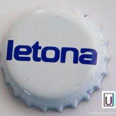 Coleccionismo Otros Botellas y Bebidas: TAPÓN CORONA - CHAPA - LÁCTEOS - LETONA. Lote 143345114