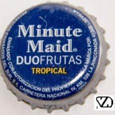 Coleccionismo Otros Botellas y Bebidas: TAPÓN CORONA - CHAPA - ESPAÑA (SEVILLA) - MINUTE MAID SELECCIÓN TROPICAL. Lote 143658726
