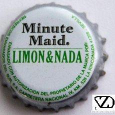 Coleccionismo Otros Botellas y Bebidas: TAPÓN CORONA - CHAPA - ESPAÑA (SEVILLA) - MINUTE MAID LIMÓN&NADA. Lote 143658858