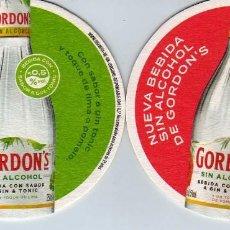 Coleccionismo Otros Botellas y Bebidas: POSAVASOS TONICA GORDONS. Lote 143799970