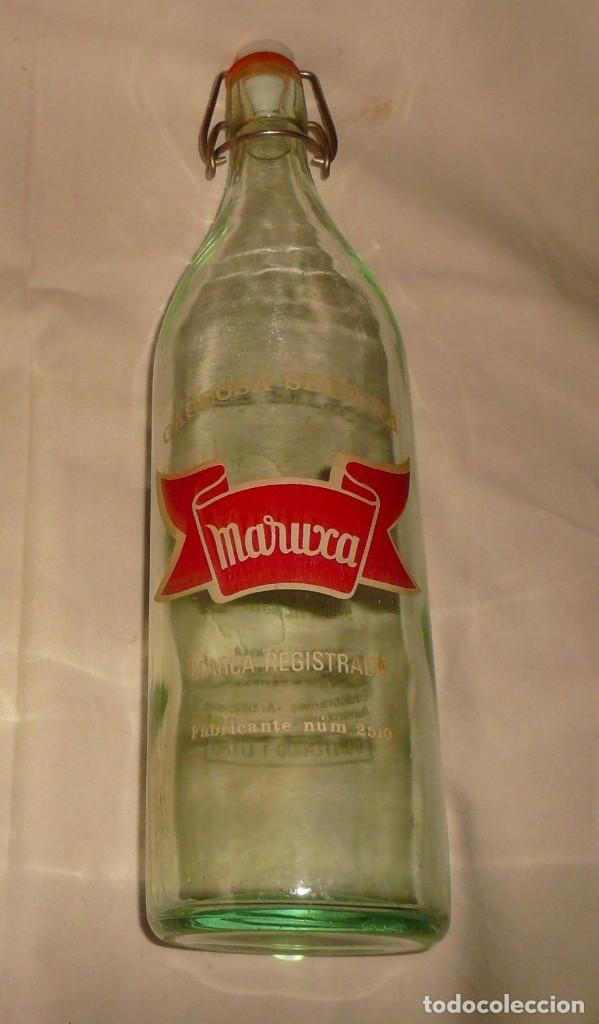 GASEOSA SELECTA MARUXA (Coleccionismo - Otras Botellas y Bebidas )