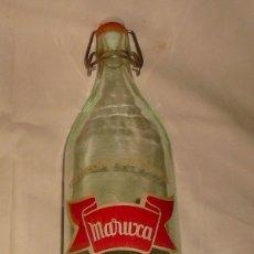 Coleccionismo Otros Botellas y Bebidas: GASEOSA SELECTA MARUXA. Lote 145247674