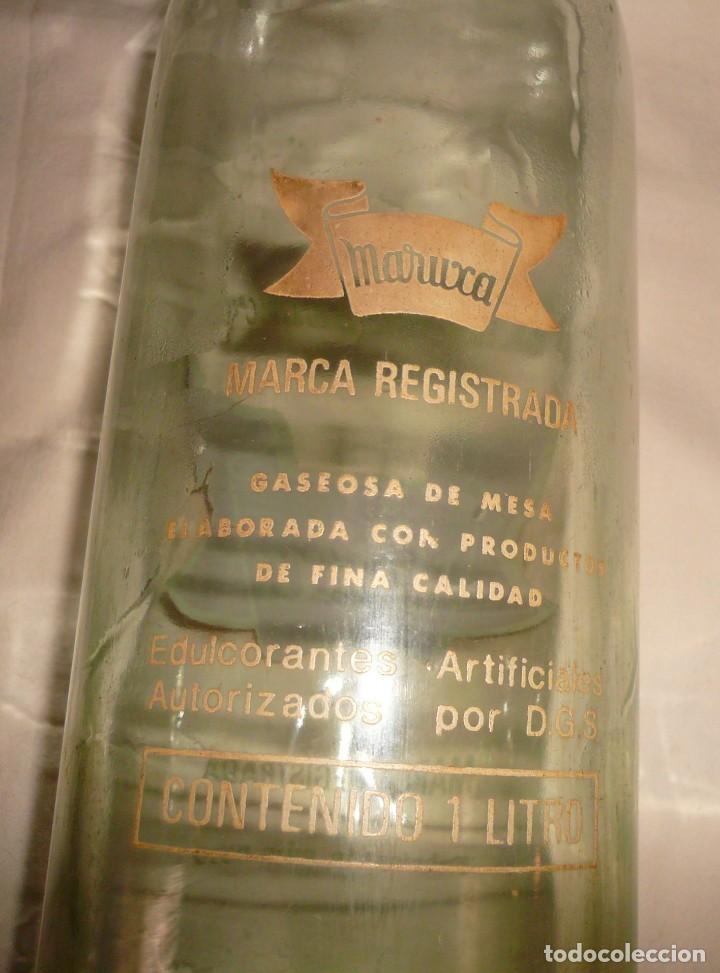 Coleccionismo Otros Botellas y Bebidas: GASEOSA SELECTA MARUXA - Foto 2 - 145247674