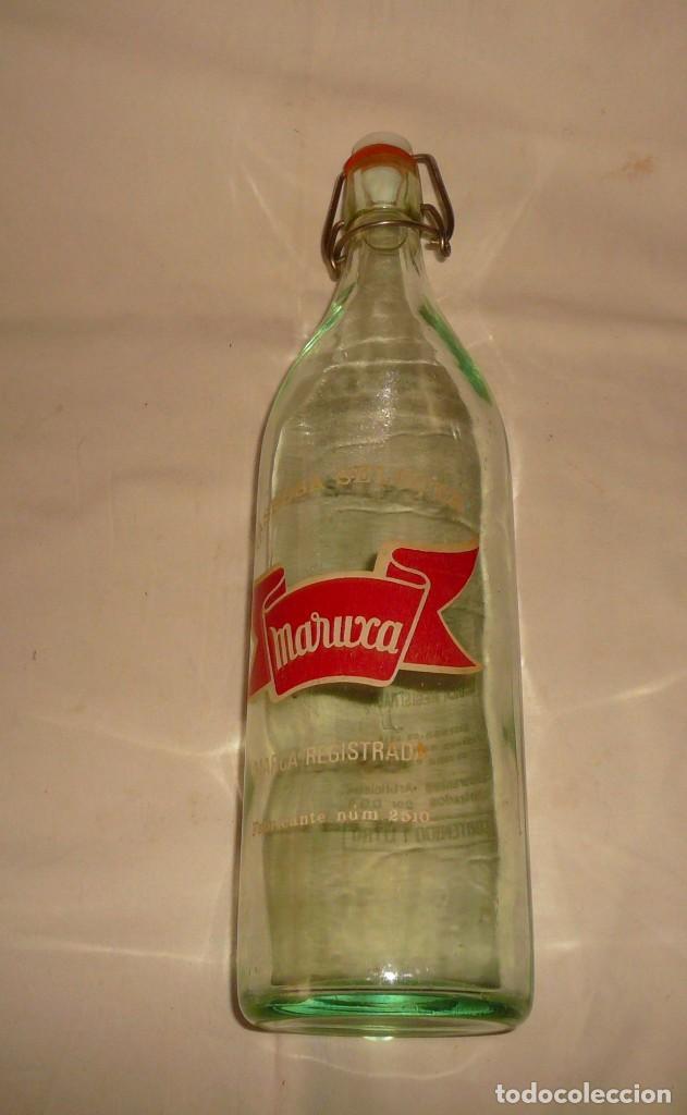 Coleccionismo Otros Botellas y Bebidas: GASEOSA SELECTA MARUXA - Foto 4 - 145247674