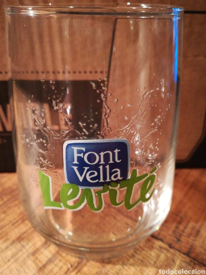 CAJA 6 VASOS FONT VELLA LEVITE (Coleccionismo - Otras Botellas y Bebidas )