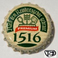 Coleccionismo Otros Botellas y Bebidas: TAPÓN CORONA - CHAPA - ESPAÑA - CERVEZA - SAN MIGUEL PREMIUM 1516. Lote 146543618