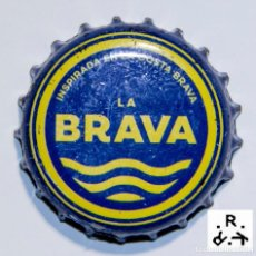 Coleccionismo Otros Botellas y Bebidas: TAPÓN CORONA - CHAPA - ESPAÑA - CERVEZA - LA BRAVA. Lote 146577842
