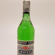 Coleccionismo Otros Botellas y Bebidas: ABSENTA DEVA, (DESTILERIAS LA VALLESANA), 50º, (PRECINTO 8 PESETAS. Lote 146636286