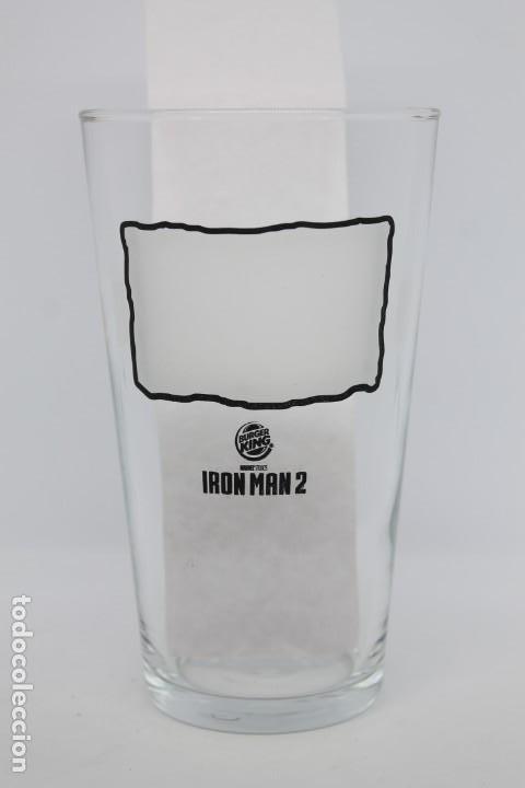 Coleccionismo Otros Botellas y Bebidas: Vaso IRON MAN 2 marvel burguer king glass película superheroes coleccionables - Foto 2 - 206294417