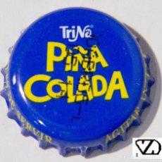 Coleccionismo Otros Botellas y Bebidas: TAPÓN CORONA - CHAPA - ESPAÑA (VALENCIA) - REFRESCO - TRINA PIÑA COLADA - FECHA 2005-AZUL MÁS CLARO. Lote 146903838