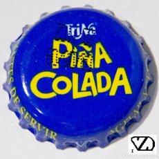 Coleccionismo Otros Botellas y Bebidas: TAPÓN CORONA - CHAPA - ESPAÑA (VALENCIA) - REFRESCO - TRINA PIÑA COLADA - FECHA 2009- MÁS OSCURA. Lote 146904070