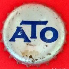 Coleccionismo Otros Botellas y Bebidas: CHAPA - TAPÓN CORONA - CROWN CAPS. ATO (CORCHO). Lote 146916974