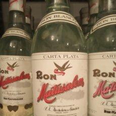Coleccionismo Otros Botellas y Bebidas: LOTE DE 10 BOTELLAS RON MATUSALEN AÑOS 80. Lote 146939633