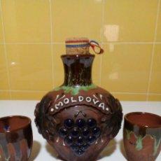 Coleccionismo Otros Botellas y Bebidas: BOTELLA DE MOLDOVA. Lote 147089542