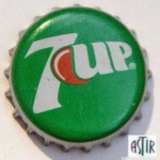 Coleccionismo Otros Botellas y Bebidas: TAPÓN CORONA - CHAPA - ESPAÑA - REFRESCO - 7 UP . Lote 147223154
