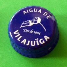 Coleccionismo Otros Botellas y Bebidas: TAPON ROSCA DE AGUA DE VILAJUIGA. Lote 147378842