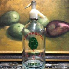 Coleccionismo Otros Botellas y Bebidas: SIFÓN ANTIGUO DE REFRESCOS EL PINO EN TEROR, DE GRAN CANARIA DE LAS ISLAS CANARIAS. Lote 147517750