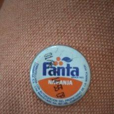 Coleccionismo Otros Botellas y Bebidas: CHAPA FANTA NARANJA AÑOS 90. Lote 147568768