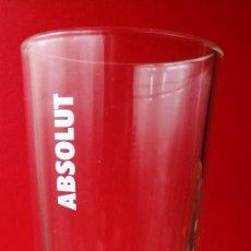 Coleccionismo Otros Botellas y Bebidas: VASO ABSOLUT (ALTURA-16 CM.). Lote 147583606