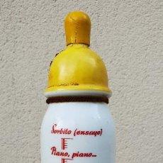 Coleccionismo Otros Botellas y Bebidas: BIBERON DE CERAMICA DE LICORES BOFILL - AGUSTIN BOFILL - BADALONA - ESPAÑA -. Lote 147726266