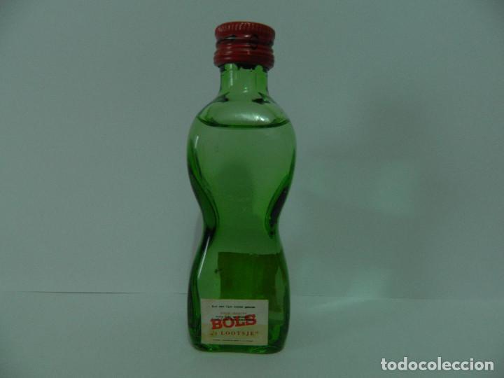 MINI BOTELLA BOLS - BOTELLIN (Coleccionismo - Otras Botellas y Bebidas )