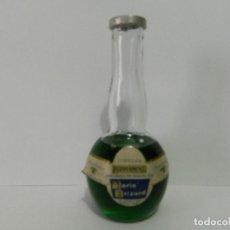 Coleccionismo Otros Botellas y Bebidas: MINI BOTELLA LICOR PEPPERMINT DE MARIE BRIZARD - BOTELLIN. Lote 148011330