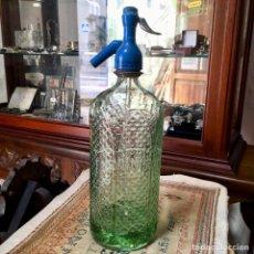 Coleccionismo Otros Botellas y Bebidas: SIFÓN DE ESPUMOSOS PEGÓN, PUERTO DE LA LUZ EN LAS PALMAS DE GRAN CANARIA. Lote 148154982