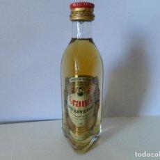 Coleccionismo Otros Botellas y Bebidas: MINI BOTELLA WHISKY GRANT'S. Lote 148210482