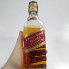 Coleccionismo Otros Botellas y Bebidas: BOTELLA JOHNNIE WALKER. RED LABEL. AÑOS 80.. Lote 148291520