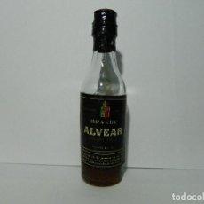 Coleccionismo Otros Botellas y Bebidas: MINIBOTELLIN BRANDY ALVEAR, MONTILLA, BOTELLIN. Lote 148388518