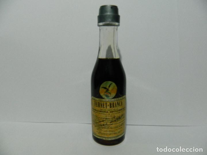 MINIBOTELLA FERNET-BRANCA, FRATELI BRANCA. BOTELLIN (Coleccionismo - Otras Botellas y Bebidas )