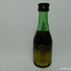 Coleccionismo Otros Botellas y Bebidas: MINIBOTELLA BRANDY GOITISOLO, BOTELLIN. Lote 181535410