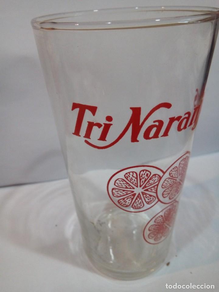 Coleccionismo Otros Botellas y Bebidas: VASO DE PUBLICIDAD TRINARANJUS - Foto 2 - 148557042