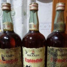 Coleccionismo Otros Botellas y Bebidas: LOTE DE 3 BOTELLAS DE BRANDY ESPLENDIDO GARVEY JEREZ. Lote 149245110