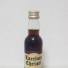 Coleccionismo Otros Botellas y Bebidas: BOTELLIN LACRIMA CHRISTI. Lote 149403570