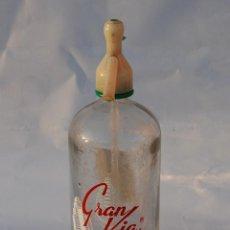 Coleccionismo Otros Botellas y Bebidas: SIFÓN GRAN VÍA DE MADRID. Lote 150016066