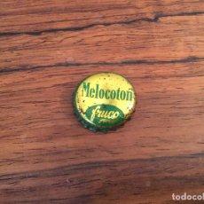 Coleccionismo Otros Botellas y Bebidas: CHAPA TAPON CORONA CORCHO FRUCO MELOCOTON. Lote 150210938