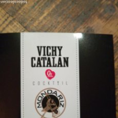Coleccionismo Otros Botellas y Bebidas: CARTA - VICHY CATALÁN - MONDARIZ PREMIUM COLA. Lote 151330141