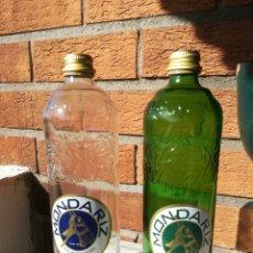 Coleccionismo Otros Botellas y Bebidas: BOTELLAS AGUA DE MONDARIZ. VACIAS. 750 ML.. Lote 151635798