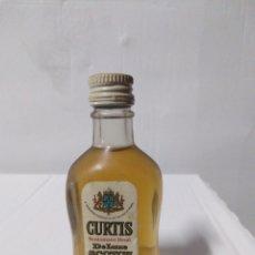 Coleccionismo Otros Botellas y Bebidas: BOTELLA MINIATURA DELUXE SCOTCH WHISKY. Lote 154197158