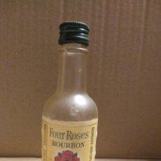 Coleccionismo Otros Botellas y Bebidas: BOTELLA MINIATURA FOUR ROSES BOURBON. Lote 154304534