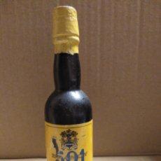 Coleccionismo Otros Botellas y Bebidas: BOTELLA MINIATURA BRANDY 501. Lote 154306249