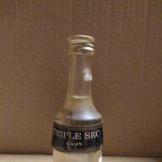 Coleccionismo Otros Botellas y Bebidas: BOTELLA MINIATURA TRIPLE SEC LICOR. Lote 154539978