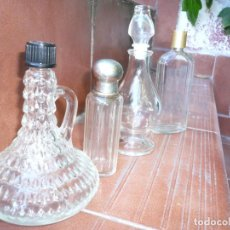 Coleccionismo Otros Botellas y Bebidas: LOTE 4 BOTELLAS DE PERFUME. FRANCESAS. Lote 155283202