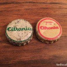 Coleccionismo Otros Botellas y Bebidas: LOTE TAPON CHAPA CORONA - CITRANIA VARIOS MODELOS , CORCHO . Lote 155677686