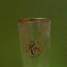 Coleccionismo Otros Botellas y Bebidas: VASO ANTIGUO REFRESCO KAS. Lote 155784134