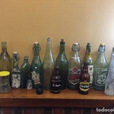 Coleccionismo Otros Botellas y Bebidas: BOTELLAS ANTIGUAS VARIADAS. Lote 155983734