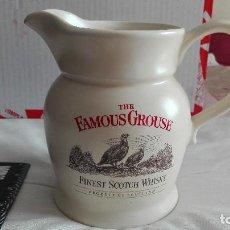 Coleccionismo Otros Botellas y Bebidas: THE FAMOUS GROUSE JARRA PORCELANA WHISKY ESCOCÉS. Lote 156692982
